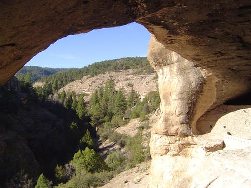 Gila Cliff Dwelling