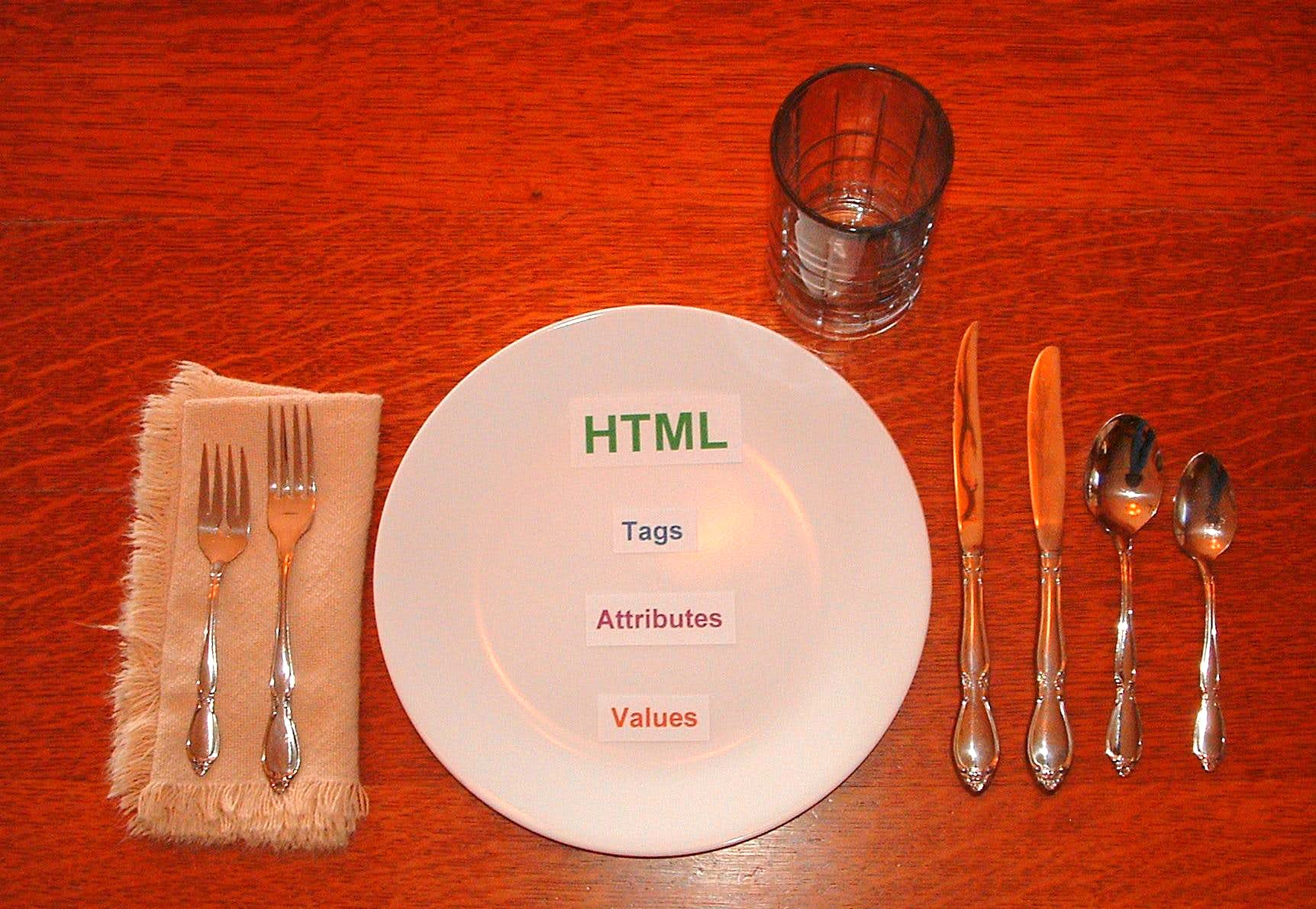 Setting Tables Using HTML