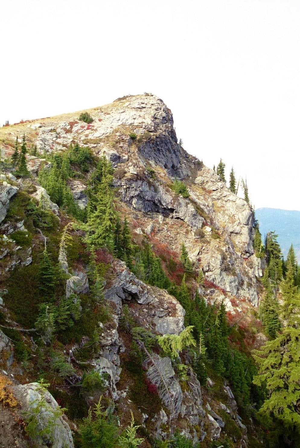 North Face of Larkins Peak