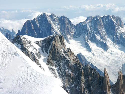 Aiguilles du Diable on the...