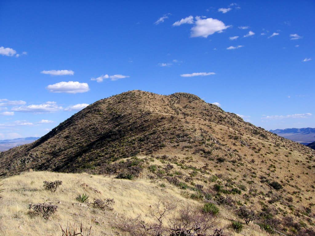 The final slope of Hachita