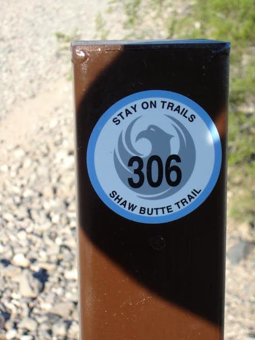 Shaw Butte Trail #306