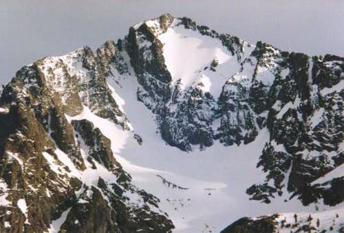 North face of Kennedy Peak