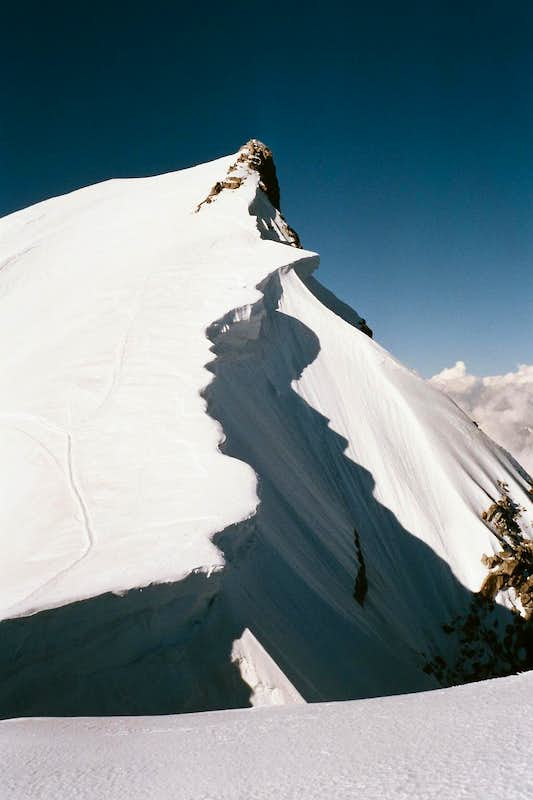 Cornices of Mont Maudit