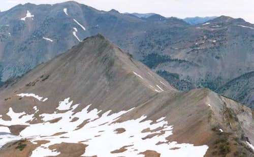 South face of Kennedy Peak
