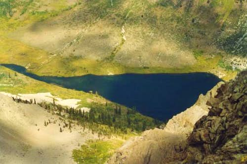 Kennedy Lake from Kennedy Peak