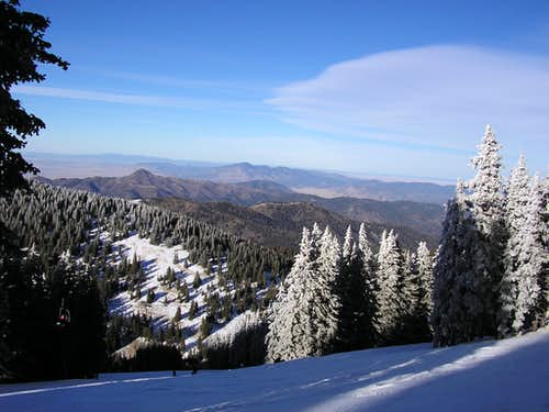 view from the slopes