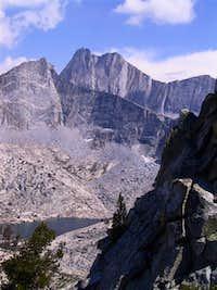 Mt. Gardiner from a ridge...