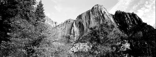 Yosemite Falls in Early March