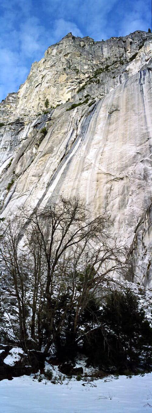 Rock Face from Valley Floor