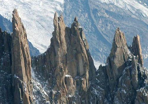 Group of the Aiguilles du...