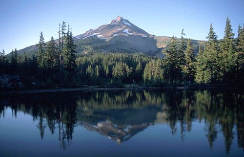 Mt. Jefferson reflected in...