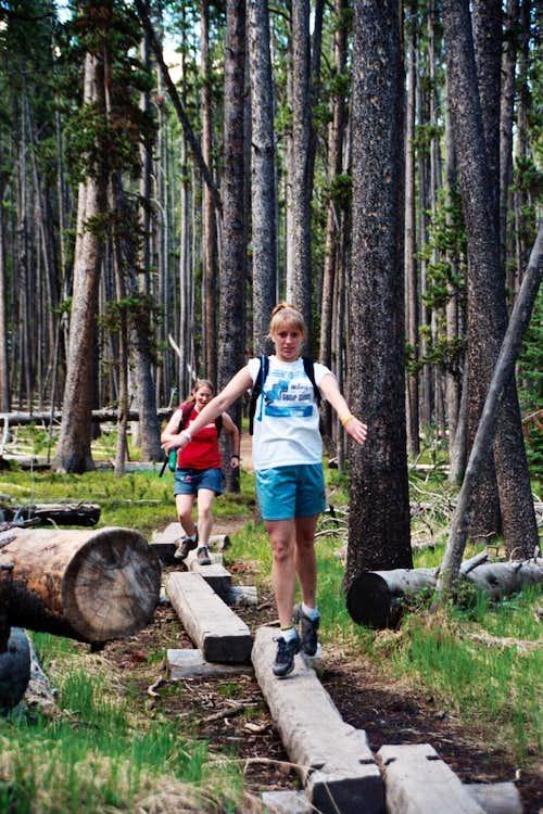 fun on the trail