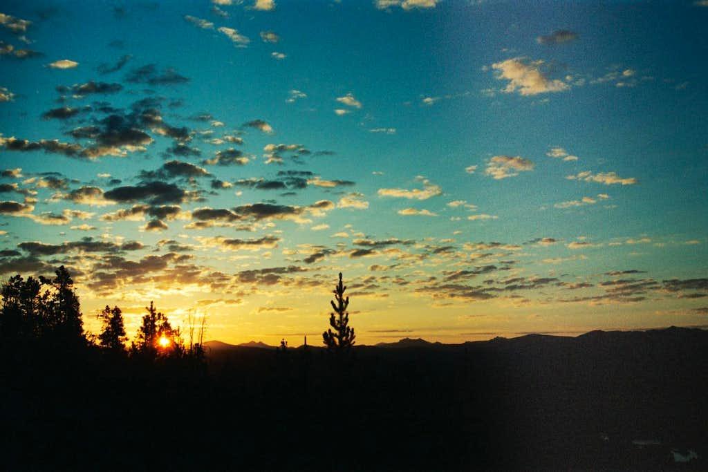 sunrise from Elephant Back