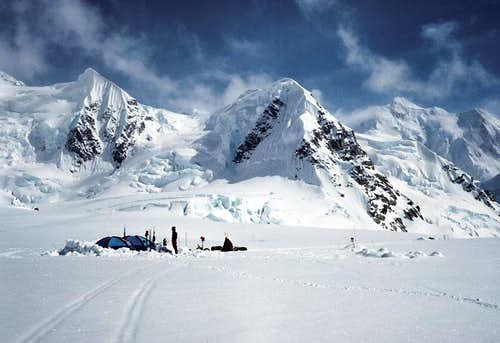 Base Camp, Kahiltna Glacier