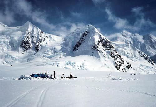Base Camp, Kahiltna Glacier