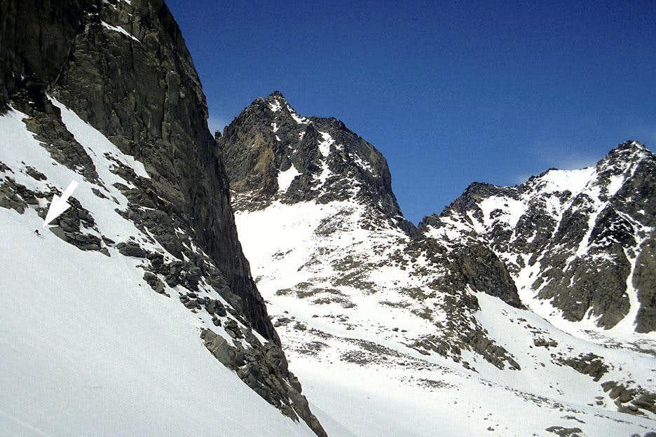 Skiing Thunderbolt Glacier