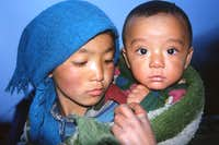 Sherpa sister and brother