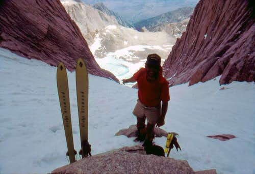 Skiing the Mountaineer's Route