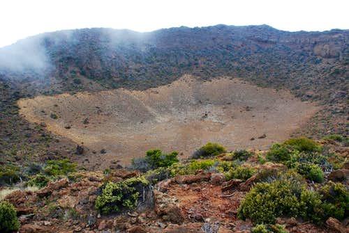 Puu Lalakaukole crater