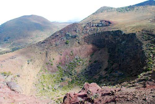 another Hualalai crater
