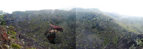 Kaupulehu Crater