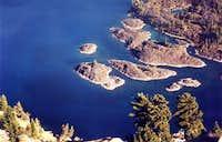 Wizard Island Detail From Watchman