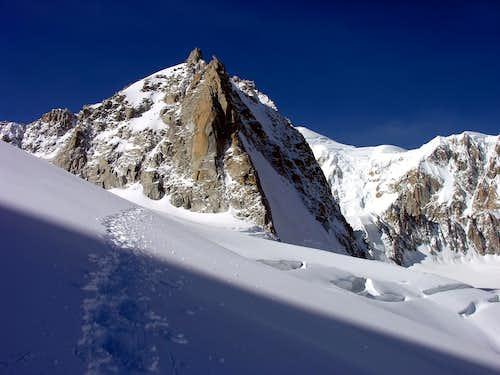 La Tour Ronde (3792 m), versante NE