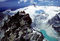 Summit of Forbidden Peak