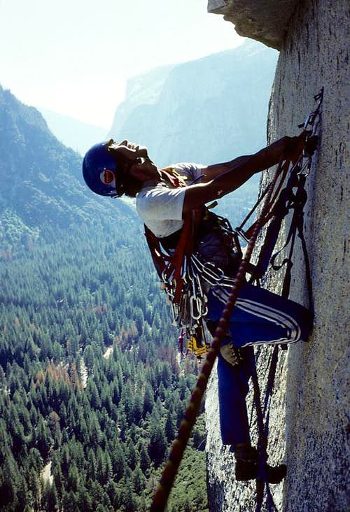 Young Chu on the South Face