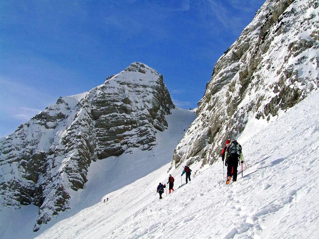 Ascending Mojstrovka