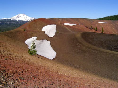 Mt. Lassen from Cinder Cone