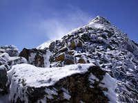 Spindrift on Yale's NW ridge...