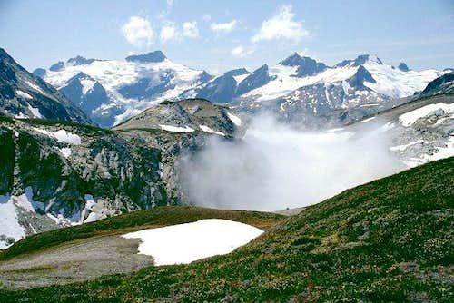 Clark Mountain, Luahna Peak,...