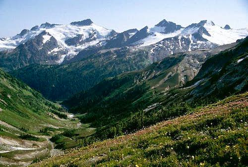 Clark Mountain, Luahna Peak,...