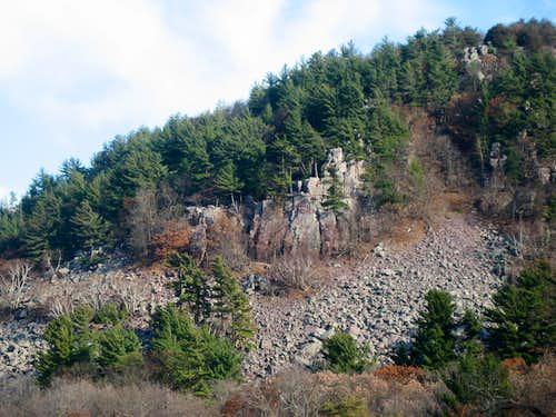 Balance Rock Wall