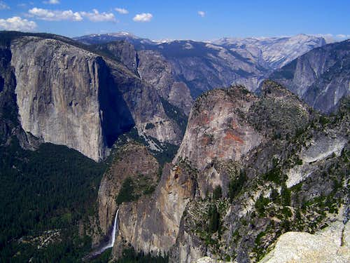 El Capitan and Yosemite Valley...