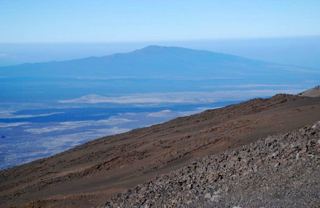 Hualalai fr Mauna Kea