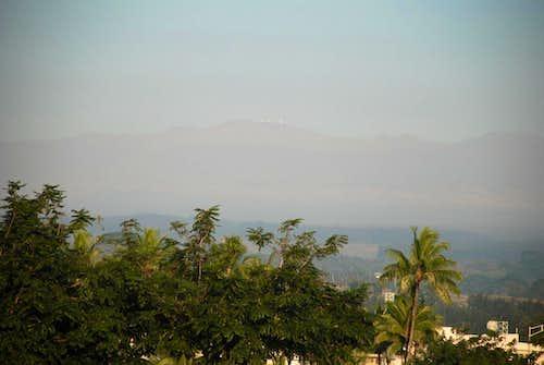Mauna Kea fr Hilo