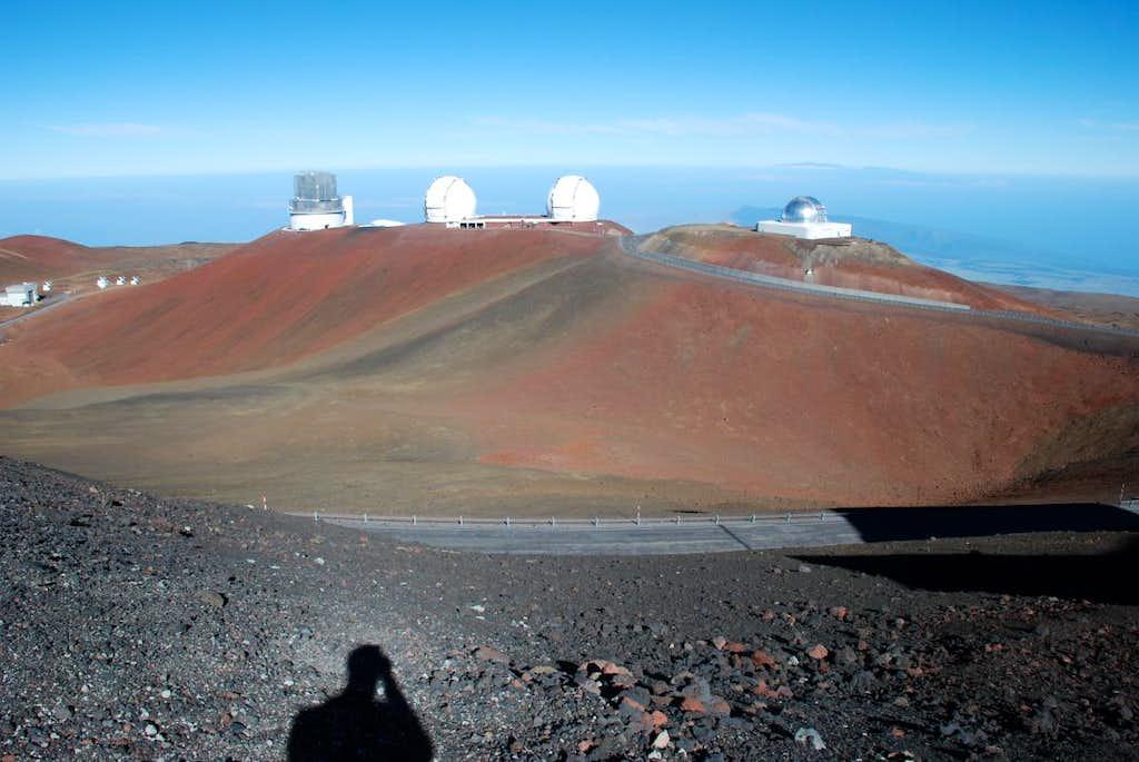 Puu Hauoki observatories