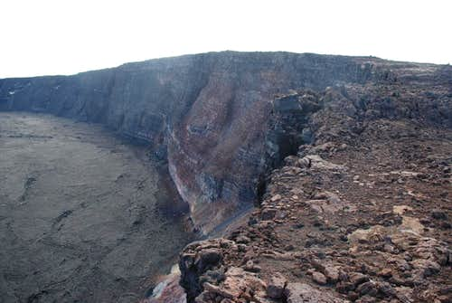 summit from caldera rim