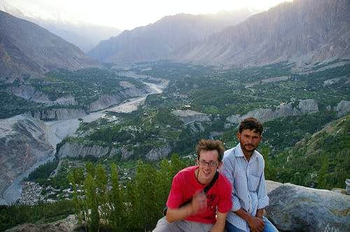 Hunza Valley from Duikar