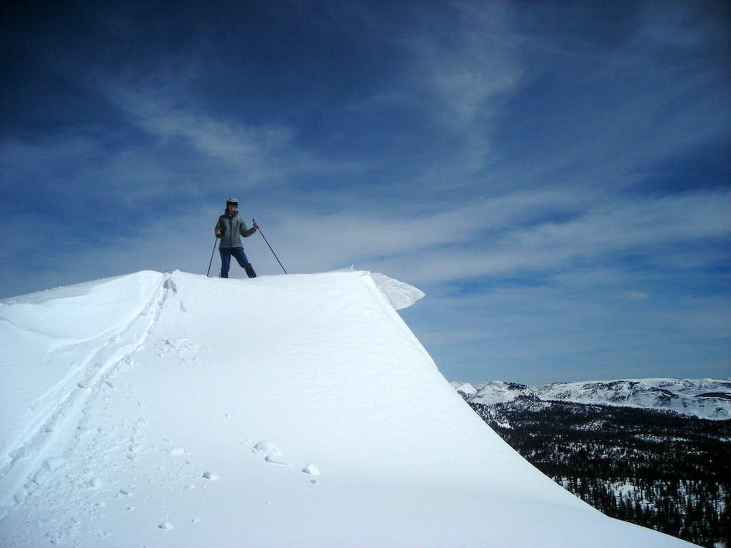 On the summit of Duke