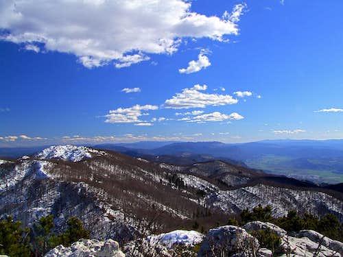 Mali Golak panorama (by courtesy of Vid Pogachnik)