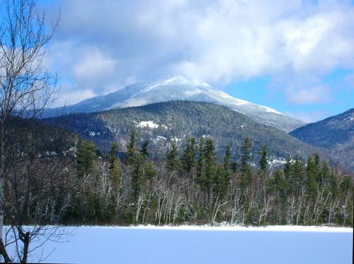 Breaking Trail on Whiteface