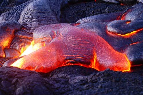 a hot blob