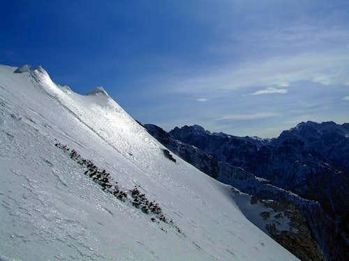 On Mojstrovka ridge