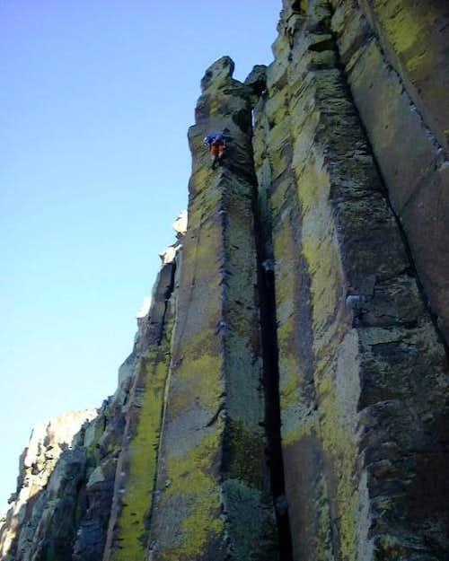 An Australian climber makes...