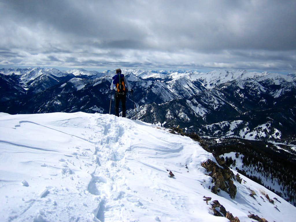 Galena Peak- SW Ridge