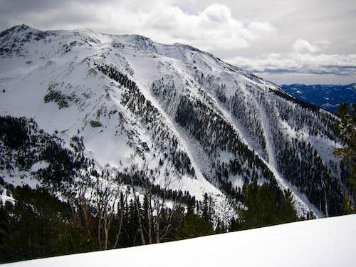 NW Slopes of Cerro Ciento